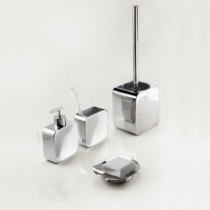 accessoires wc inox. Black Bedroom Furniture Sets. Home Design Ideas